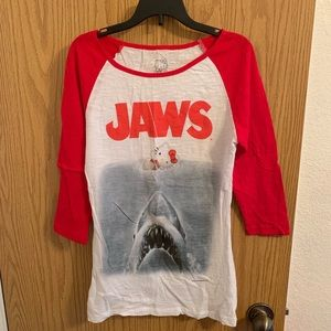 JAWS - Hello Kitty Baseball Tee